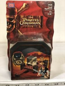 MEGA BLOKS 1048 Jack Sparrow Pirates of the Caribbean At World's End