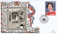 (19372) Palau Benham Cover Queen Golden Jubilee anniversary 2007