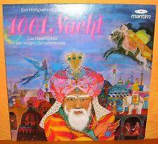 LP Hörspiel 1001 Nacht maritim Scheherezade