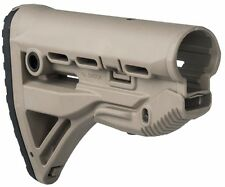 GL-Shock -S Fab Defense Tan Color Collapsible Shock Absorbing Buttstock