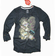 3/4 Arm Mädchen-T-Shirts mit Rundhals-Ausschnitt