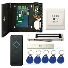 Single Door TCP/IP Access Control Kit with 280kg Mag Lock+ RFID Reader+Power Box