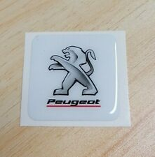 Peugeot Sport Domed Badge / Sticker / Racing / Cars / Logo / 3D EFFECT 35x35mm