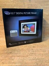 "VIEWLINE 10.1"" Inch Digital Picture Frame LCD Screen, Clock & Calendar NEW Open"