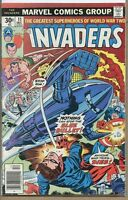 Invaders 1975 series # 11 good comic book