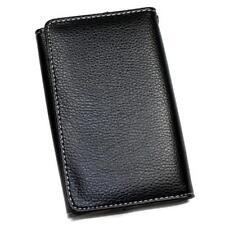 Housse Etui Portefeuille façon cuir noir pour NOKIA 130