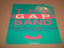 "THE GAP BAND "" YOU TOLD ME THAT "" 7"" SINGLE EXCELLENT EX/EX 1988"