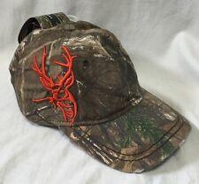 NEW Dri Duck Wildlife Series Realtree Camo Hat 3D Buck Hunting Baseball Cap 3212