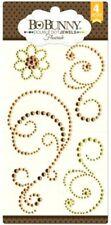 Swirl Swirls Flourishes Citrus Flourish Crystal Bling Jewels BoBunny Stickers