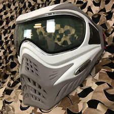 New V-Force Grill Thermal Anti-Fog Paintball Mask Goggle - Se White/Taupe
