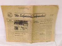 Vintage September 9 1963 Salyersville Independent Kentucky Newspaper
