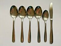 Oneida Northland Village Common AKA Fort Scott 6pc Flatware Lot Spoons