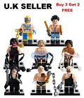Wrestlers Minifigure Set The Rock Big Show Wrestling WWE Undertaker Mini Figure