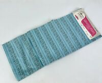 NOS Woolworths Primstyle 100% Cotton Blue Fabric New 2 yds Calico Original Tags