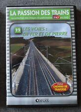 La passion des trains, les voies : de fer et de pierre - vol 19, DVD