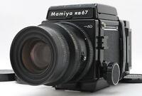 【MINT】 Mamiya RB67 Pro SD K/L KL 90mm f/3.5 L Lens 120 Film Back JAPAN #1104