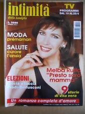 INTIMITA' n°17 1996 Melba Ruffo - con inserto  [D10]