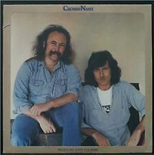 CROSBY & NASH - WHISTLING DOWN THE WIRE - ROCK VINYL LP