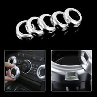 5x Dashboard Console AC Switch Button Ring Cover Trim For Land Rover Freelander