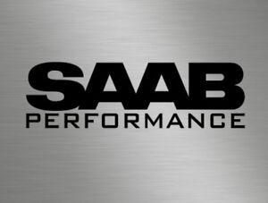 Saab Performance Car Vinyl Decals Stickers Race Side Back Window 9-3 9-5 900 99
