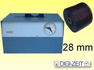 Farbband für Stempeluhr BENZING Kartenapparat 28 mm einfarbig