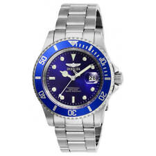 Invicta Men's Watch Pro Diver Quartz Blue Dial Silver Tone Bracelet 26971