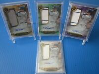 2019 Topps Triple Threads Kyle Schwarber Auto Jersey Rainbow Lot of (4) Cubs!!