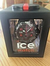 Ice Watch Carbon-Chrono Black-White Big