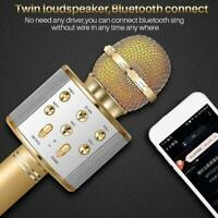 Wireless Bluetooth Microphone USB Handheld KTV Player MIC Speaker Karaoke T6T8