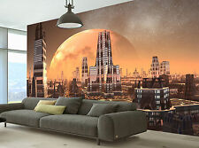 Planet,City of the Future Wall Mural Photo Wallpaper GIANT DECOR Paper Poster