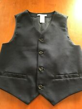 Janie and Jack NWOT Navy Blue Tailored Vest - 6 Years