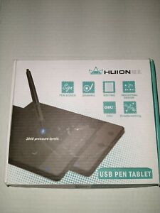 Huion H420 Pro Digital Drawing Pad Graphics Writing Pen Tablet Board Mat NotePad