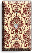 VICTORIAN PATTERN PHONE JACK TELEPHONE WALL PLATE COVER BEDROOM DINING ROOM ART