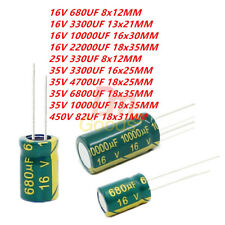 5PCS 35V 4700uF High Frequency LOW ESR Radial Electrolytic Capacitors 18x25mm