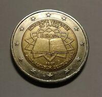 Moneta da 2 euro RARA Germania 2007 Trattati di Roma