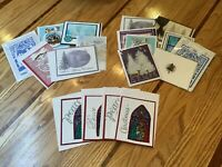Handmade Greeting Card Lots / Nice Variety of Christmas Cards / You Choose Lot