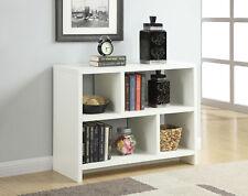 Northfield Console Bookcase 111085W, White Finish