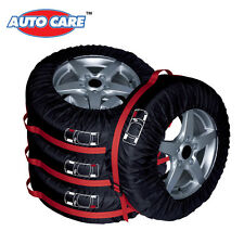 "4PCS Car SUV Truck Spare Wheel Tire Tyre Cover 13""-16"" Carry Tote Storage Bags"