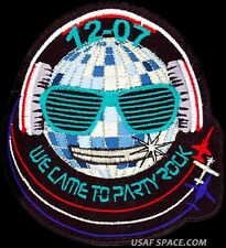 USAF PILOT TRAINING CLASS - 2012-07 - WE CAME TO PARTY ROCK - ORIGINAL PATCH