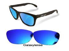 Galaxy Lentes de Repuesto para Oakley Frogskins Gafas de Sol Azul Polarizados