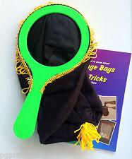 New BLACK CHANGE BAG + 101 TRICKS BOOK Magic Clown Kid Show One Hand Stage Prop