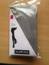 XXL BLACK FISHNET TIGHTS to 60 INCH HIPS