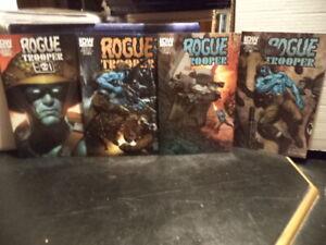 Rogue Trooper (IDW) Comic Issues 1-4