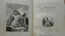 Demoustier Lettres a Émile sur la mythologie  1830 80 x 120 mm