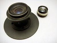 Vintage Enlaging Lenses Itek Ilex Wollensak Velostigmat 3 Inch &