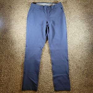 Under Armour UA Links Fitted Golf Pants Women's Size 8 1272344-497 Blue