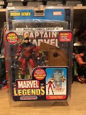 "2006 Toy Biz Marvel Legends Captain Marvel 6"" Action Figure: BAF ""Modok Series"""