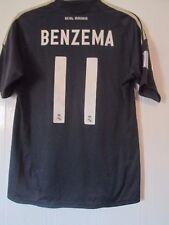 Real Madrid 2007-2008 away football shirt Taille moyenne Benzema 11 Medium/41820