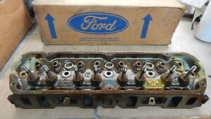 NOS 1969 72 FORD BRONCO TRUCK F100 302 CYLINDER HEAD D1TZ 6049 A
