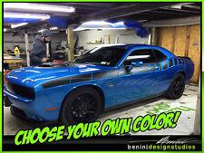 Dodge Challenger RT SRT STRIPES DECAL 2007 2008 2009 2010 2011 2012 13 14 2015